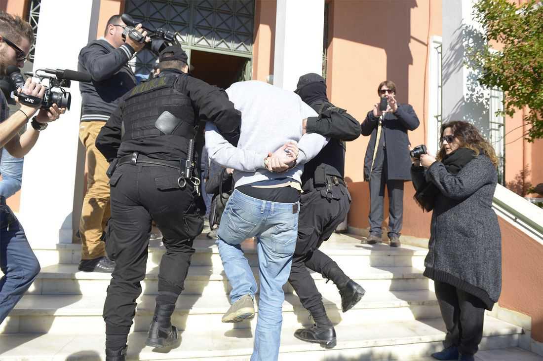 Mirsad Bektasevic dömdes till 15 års fängelse för terroristbrott i Grekland.