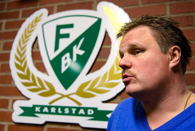 Färjestads tränare Leif Carlsson.