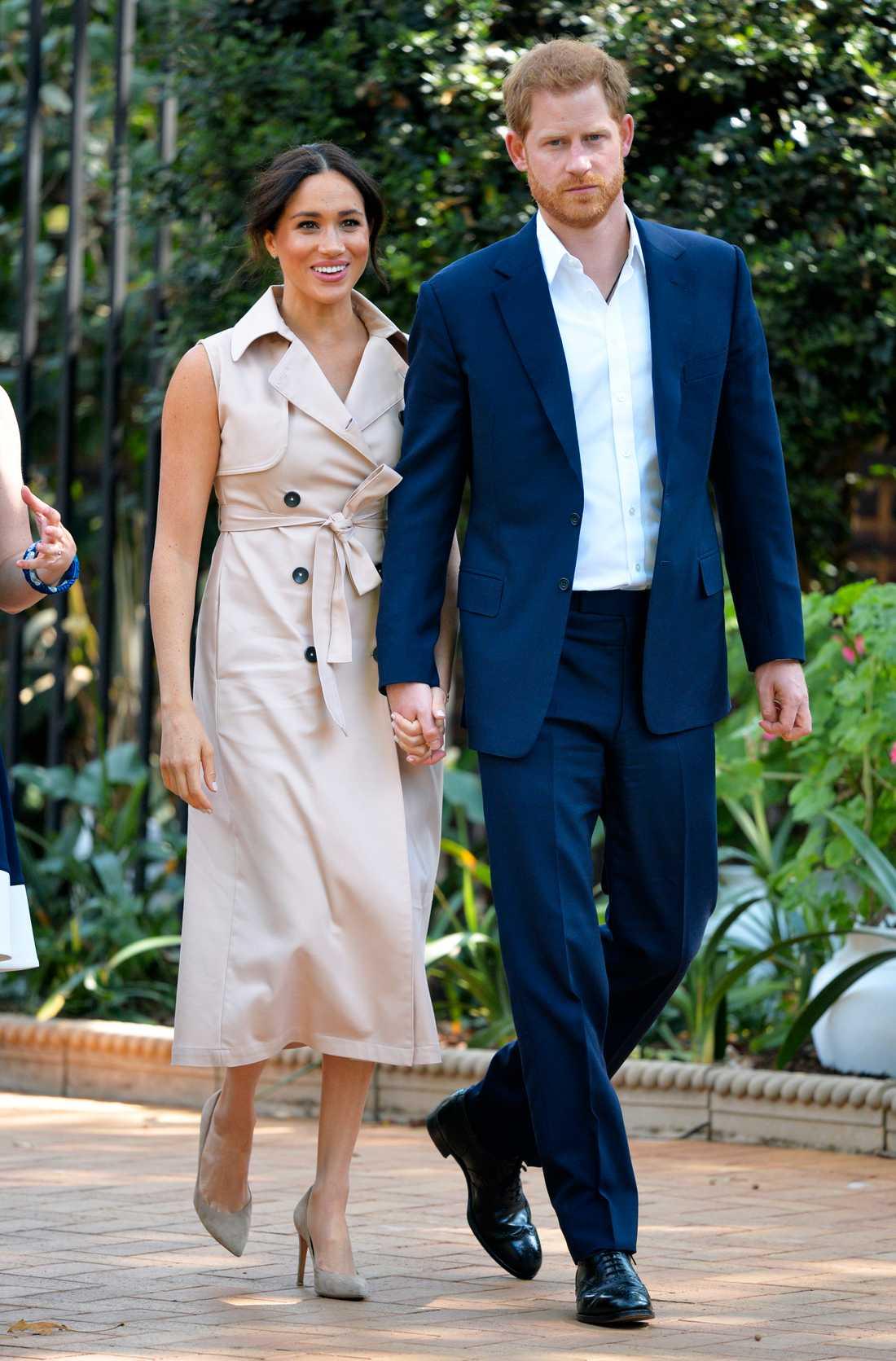 Meghan och maken prins Harry.