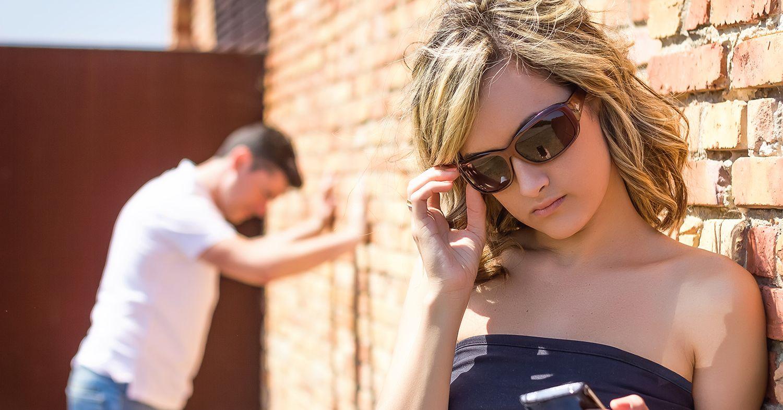 Dejting efter separation före skilsmässa och otrohet