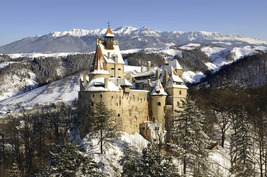Slottet Brans historia är inte riktigt lika blodig som många tror.