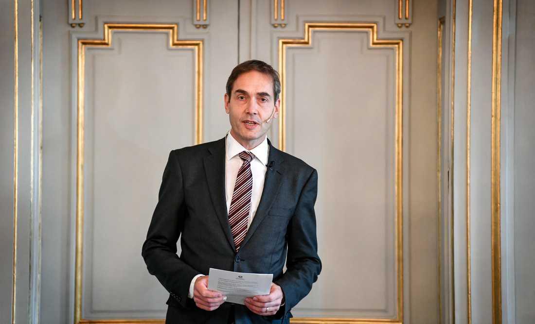 Mats Malm, Mats Malm, Svenska Akademiens ständige sekreterare.