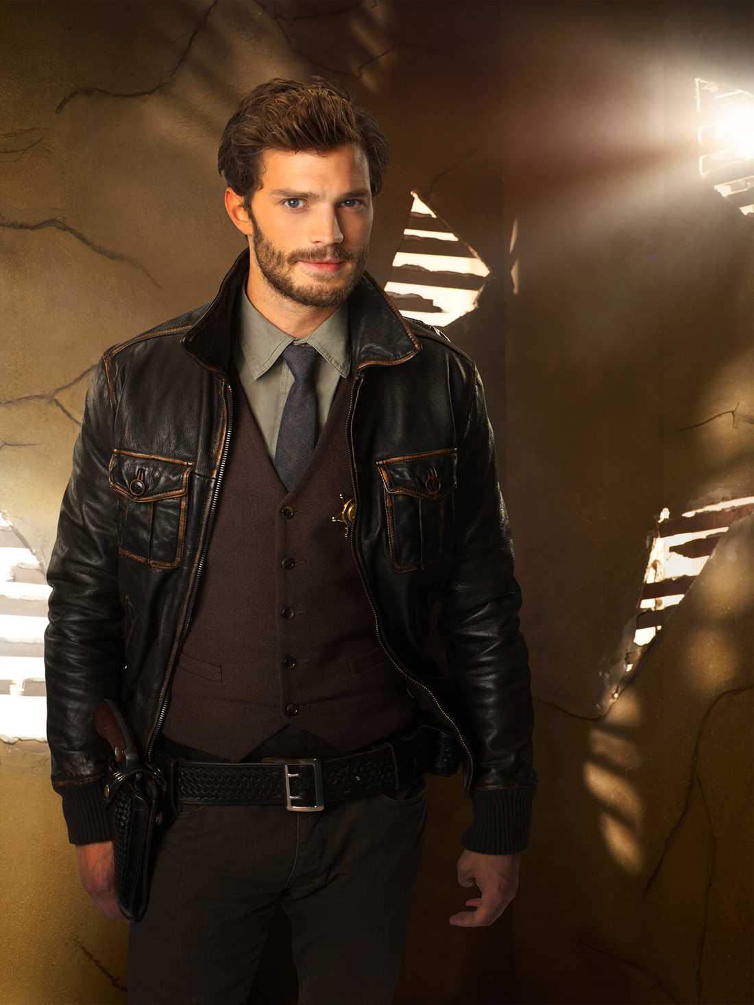 Jamie Dornan är mr Grey.