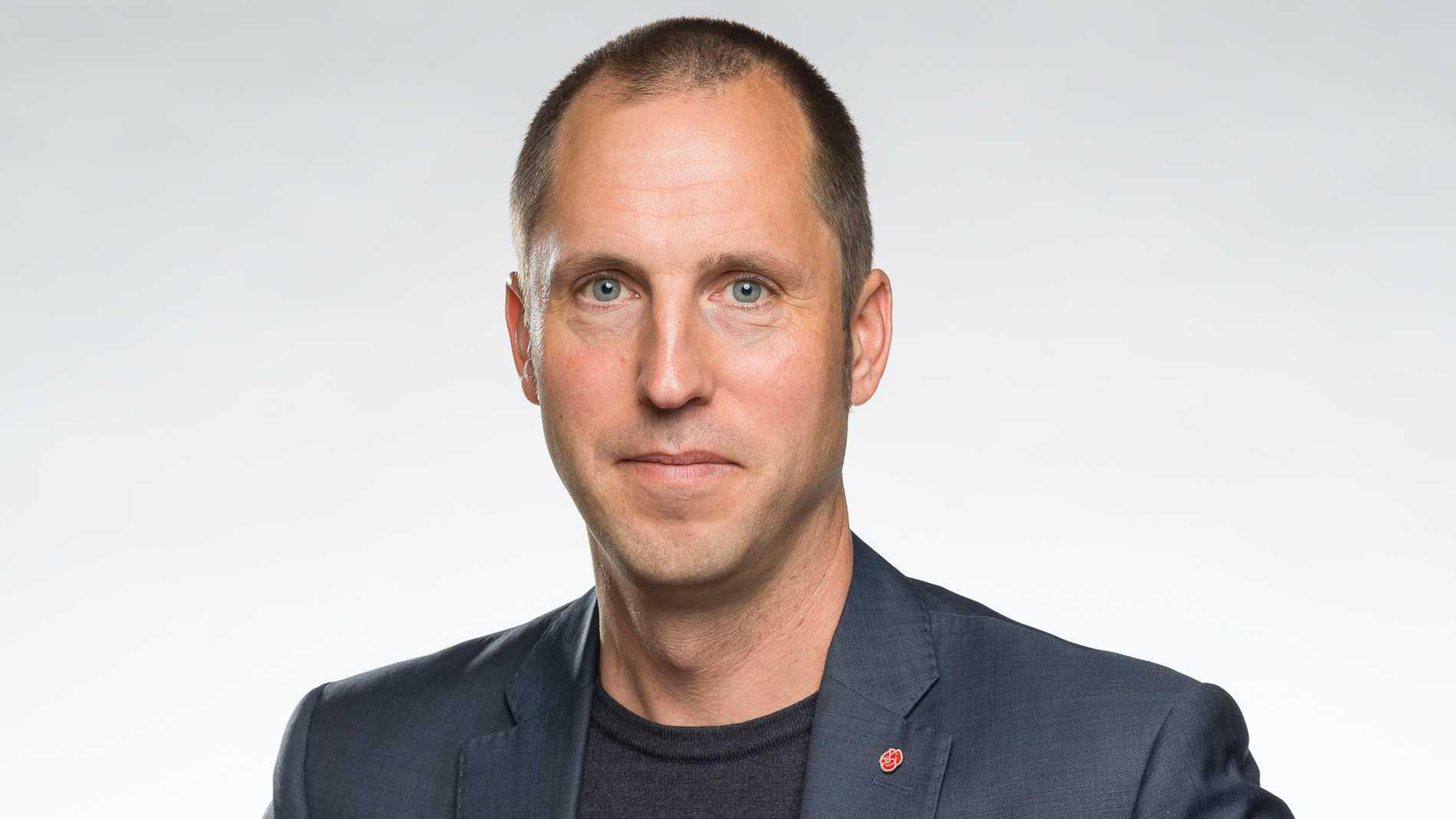 Erik Pelling (S), kommunstyrelsens ordförande.
