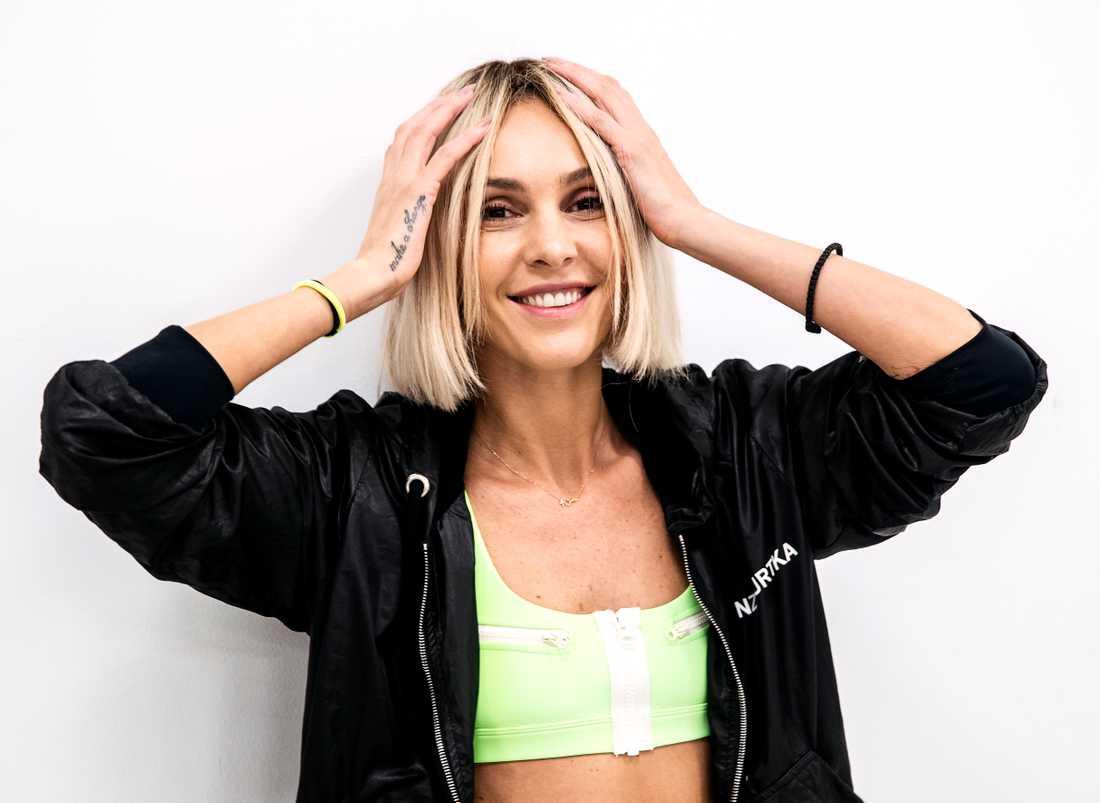 Tamta kommer från Georgien, bor i Grekland, tävlar för Cypern – och repeterar i Sverige inför Eurovision song contest