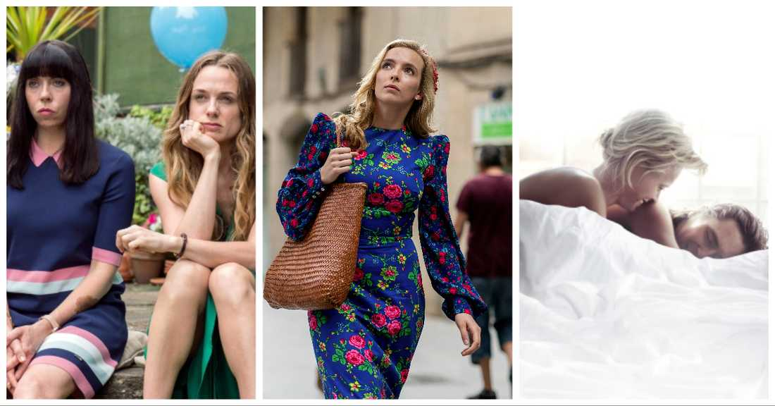 """Women on the verge"", ""Killing Eve"" och ""Älska mig""."
