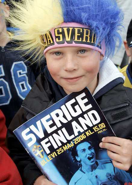 Zlatan ...på Anton Björkqvists matchprogram...