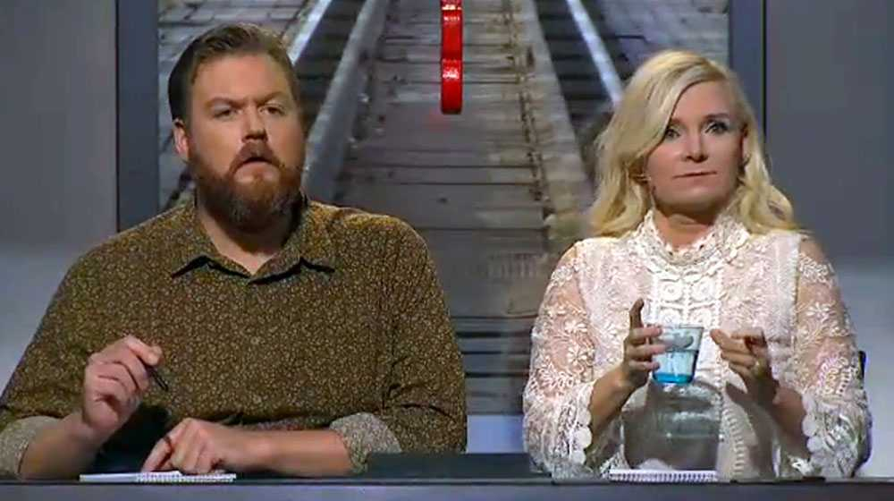 """Kristoffer Appelquist och Bea Uusma gör comeback i """"På spåret""""."""