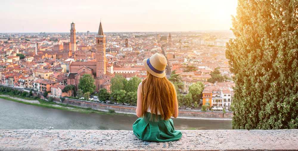 Verona har både kultur, arkitektur och en romantisk stämning.