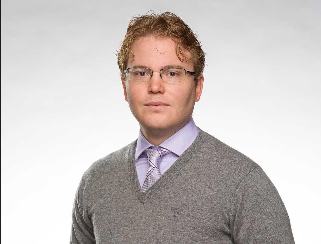 David Perez, SD-ordförande Uppsala.