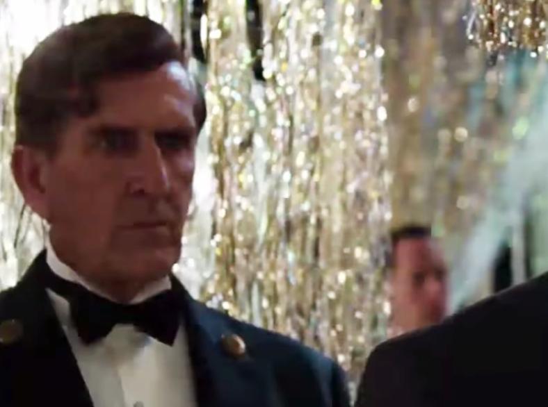 "Richard Carter i rollen som Hertzog i ""The Great Gatsby""."