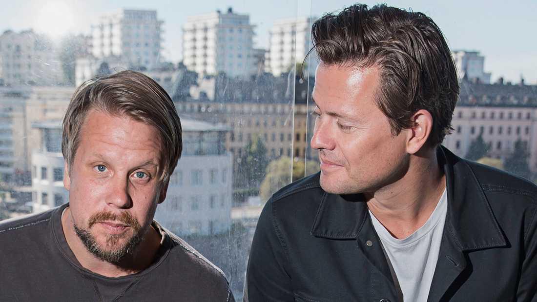 Fredrik Hammar och Filip Wikingsson.