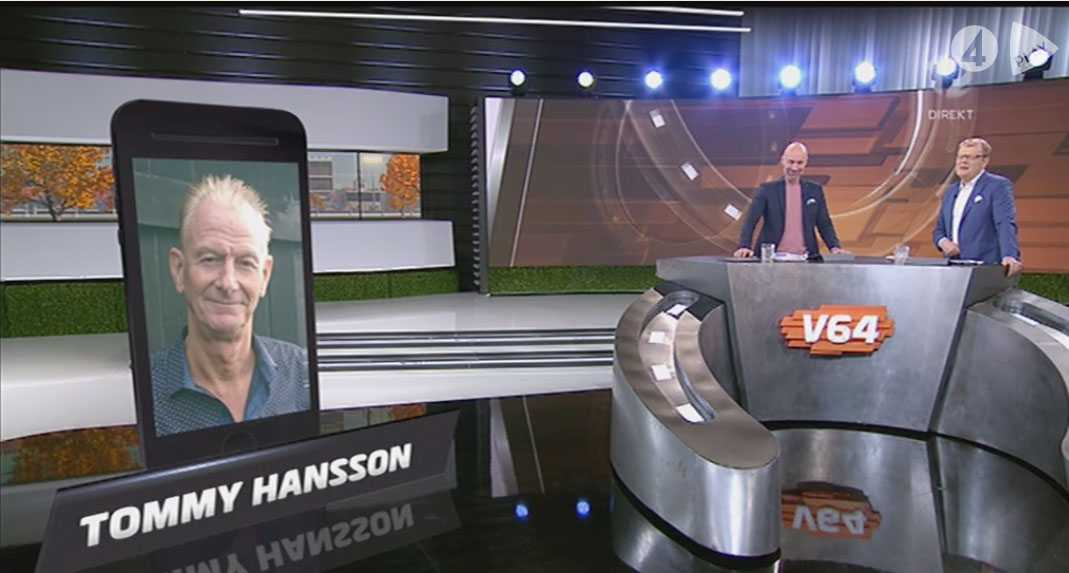 Tommy Hansson, 65, från Hammarstrand var en av två spelare som vann 20 miljoner kronor på V75 i lördags.