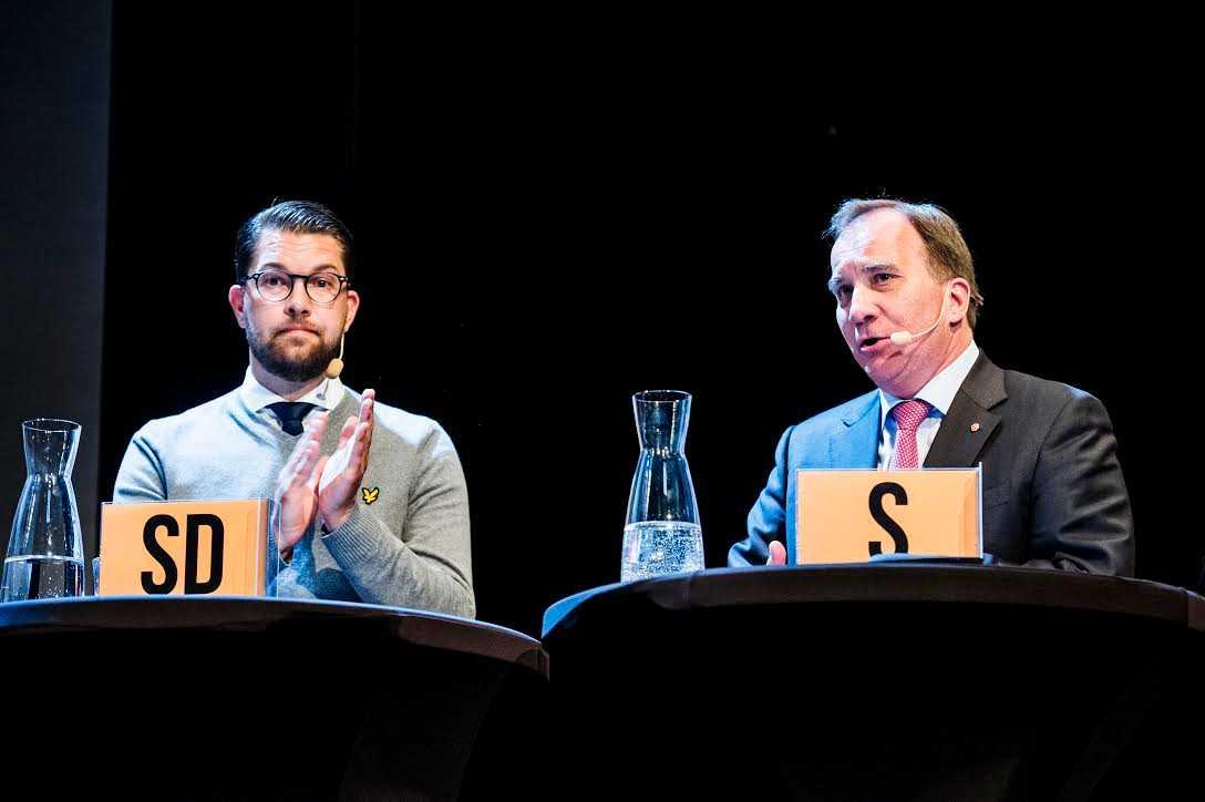 """Stefan Löfven: """"Vi kommer allt mer få prata välfärdsfrågor och då har vi mycket, mycket starka kort""""."""