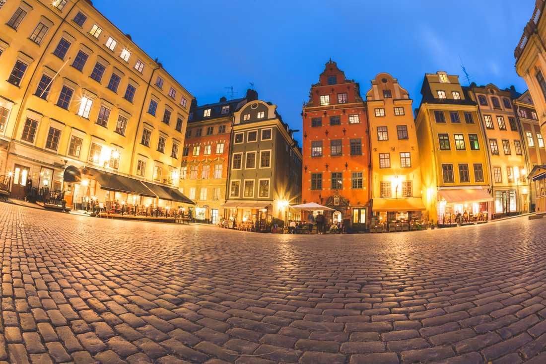 Gamla stan i Stockholm.
