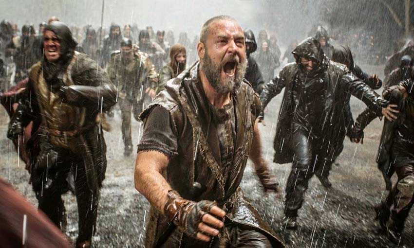 """Russell Crowe i filmen """"Noah"""" från 2014"""
