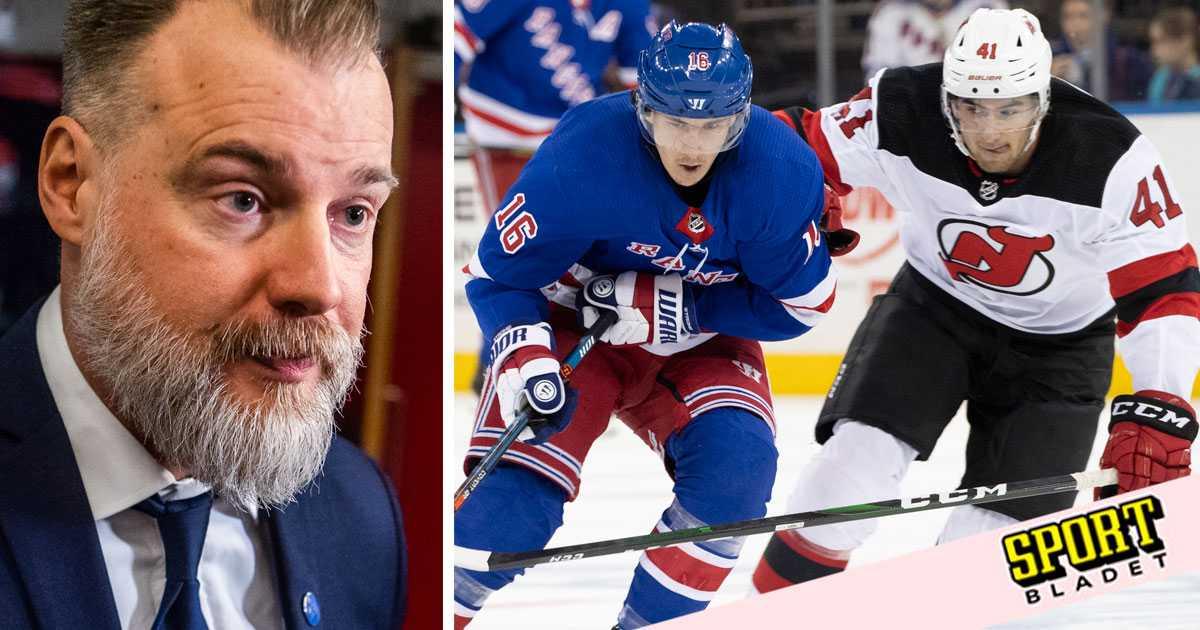 """Grönborg: """"Jag har kontakt med flera NHL-klubbar"""""""