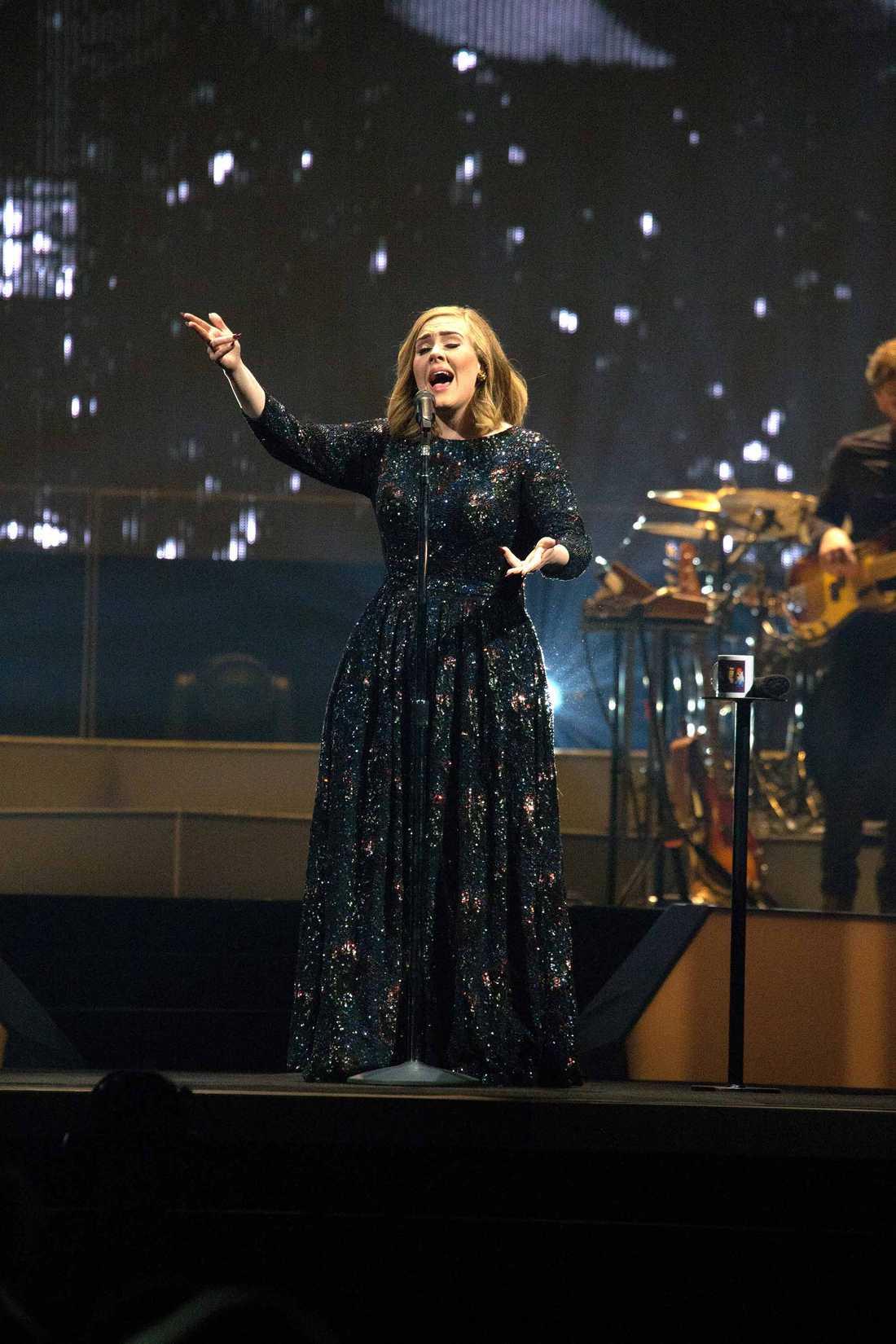 Adele i Tele 2 Arena, Stockholm.