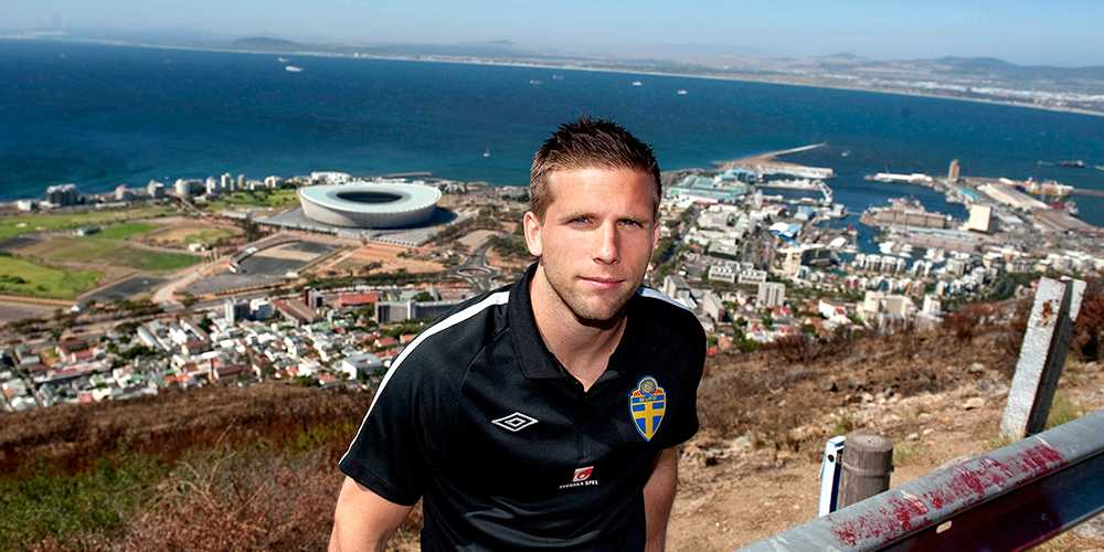 Anders Svensson på Signal Hill i Cape Town under januariturnén 2011.