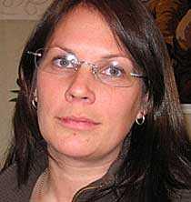 Annelie Tåqvist, 32, bloggar om tillvaron som Saabanställd.