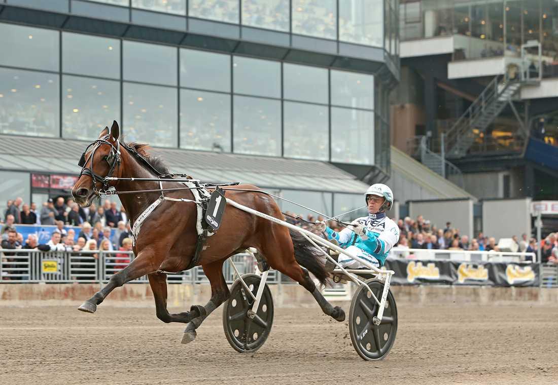 Delicious U.S. och Örjan Kihlström på tävlingsbanan.