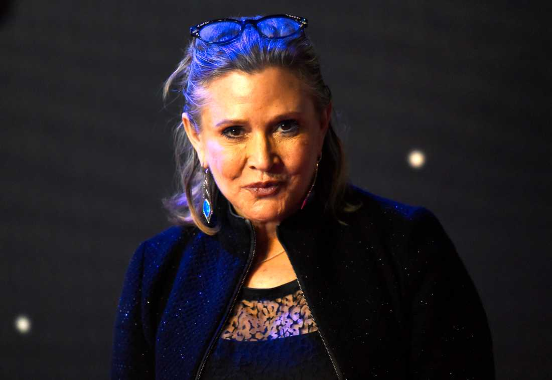 Carrie Fisher december 2015.