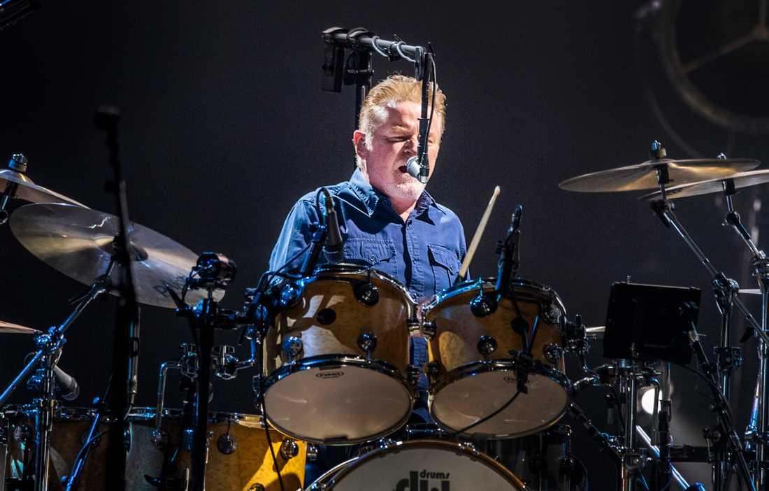 Don Henley bakom trummorna.