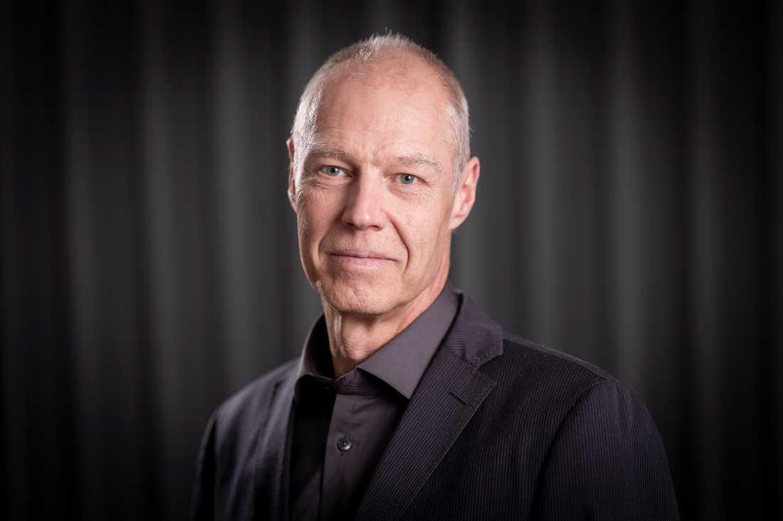 Claes Keisu, presskommunikatör på trafikförvaltningen i region Stockholm.