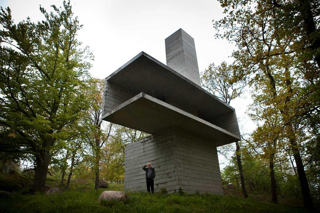 Vakttornet utanför Kivik.
