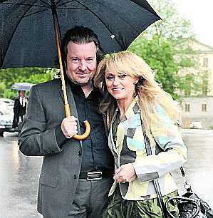 Nanne och Peter Grönwall var bröllopssugna.