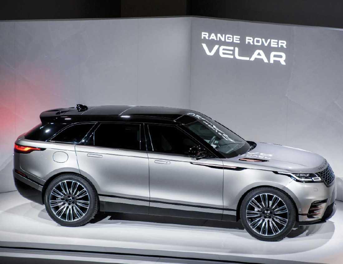Range Rover fyller nu på sitt utbud med en fjärde modell – Velar.