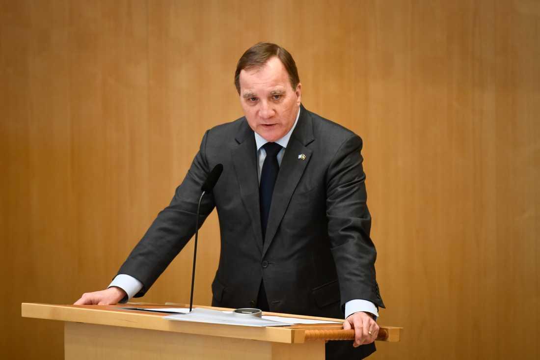Statsminister Stefan Löfven (S). Arkivbild.