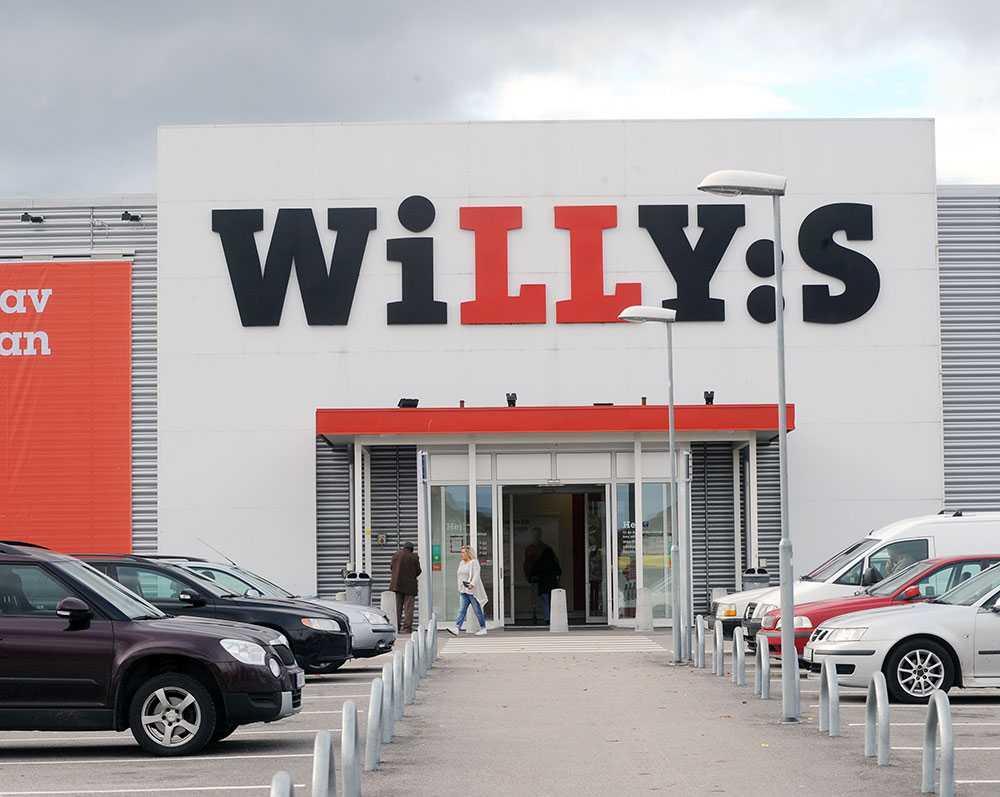 Matbutiken Willys i Gävle.