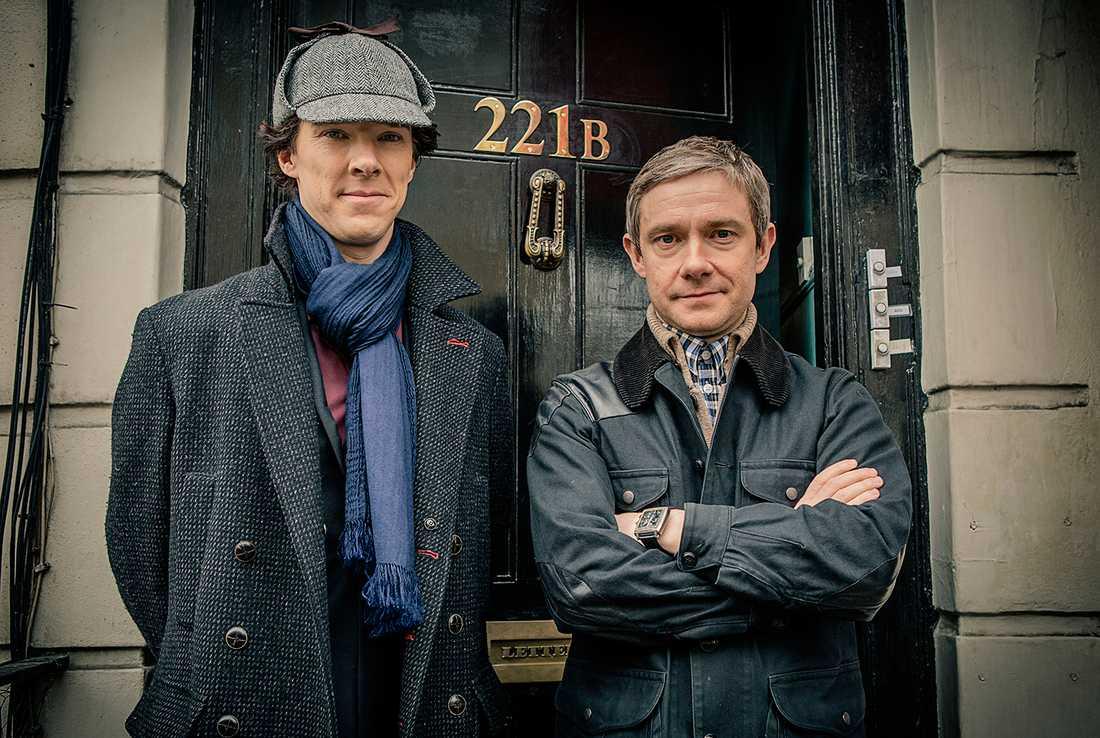 Tillsammans med skådespelaren Benedict Cumberbatch har Martin Freeman anpassat Sherlock Holmes till 2000-talet.