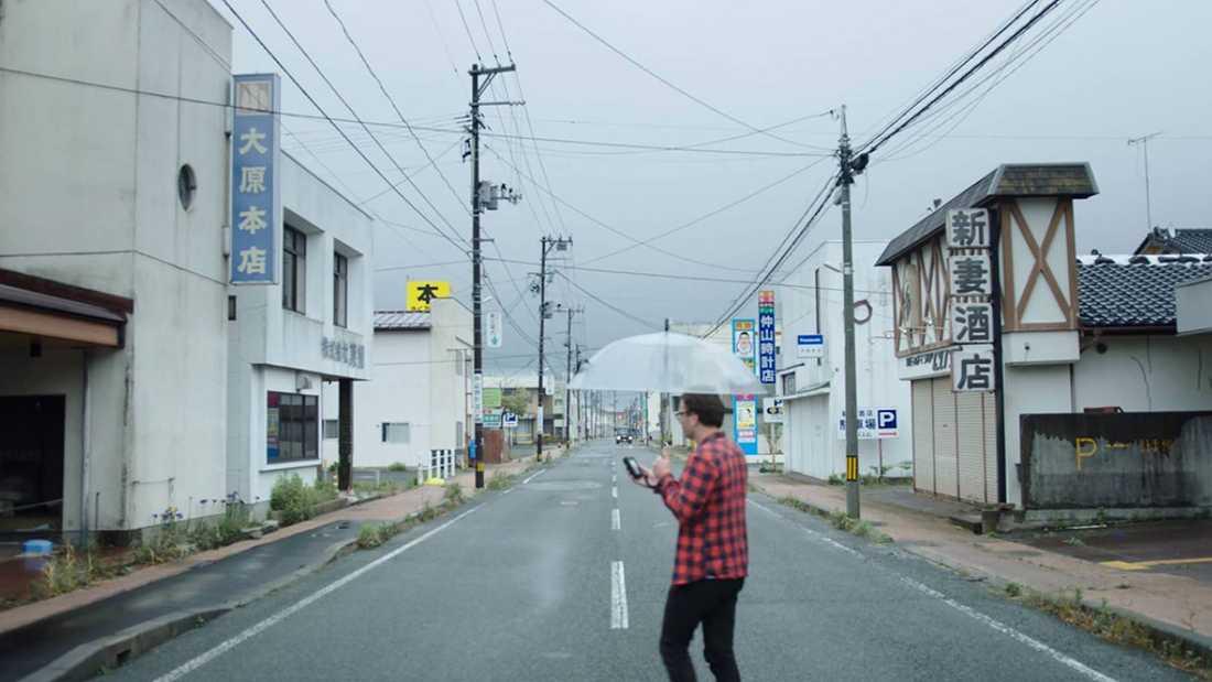 """Känsligt område. David Farrier besöker Fukushima i Netflix-serien """"Mörk turism""""."""