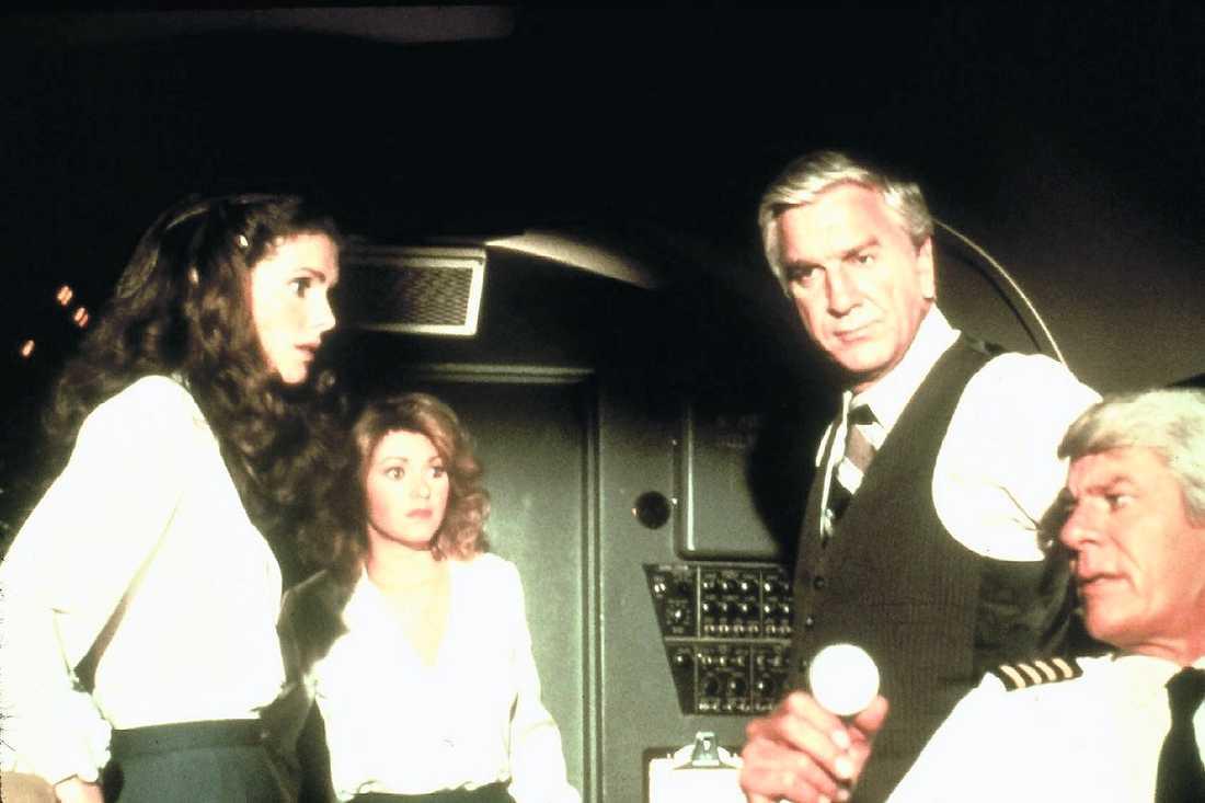 """I filmen """"Titta vi flyger"""" från 1980."""