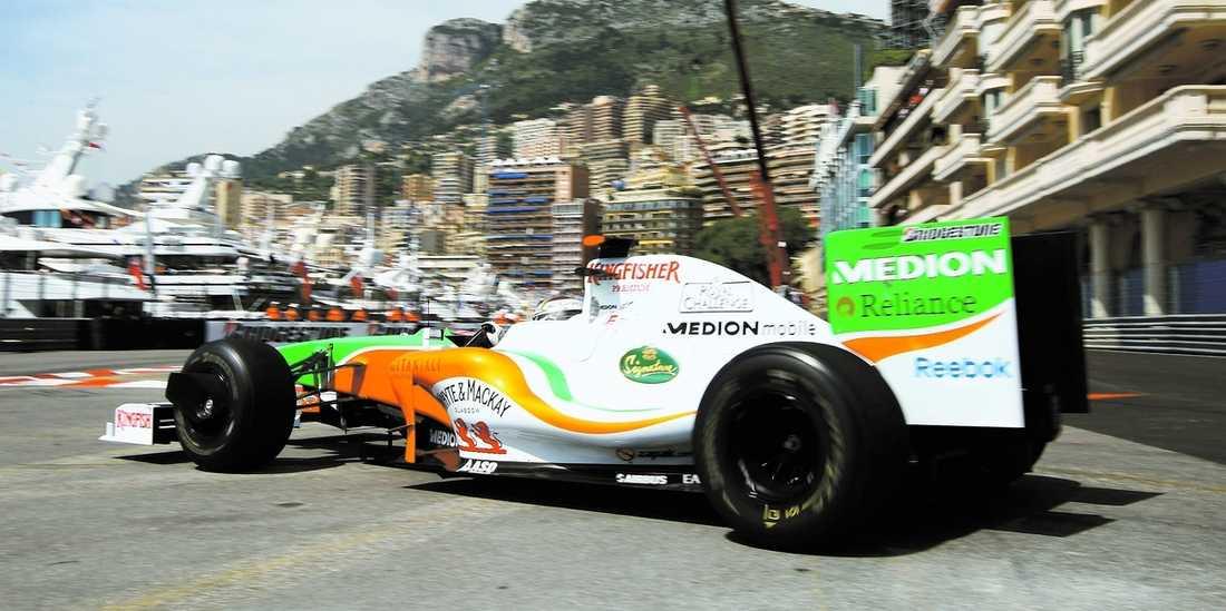 Anrells drömresa har kommit fram till fjärde stoppet – Monacos GP.