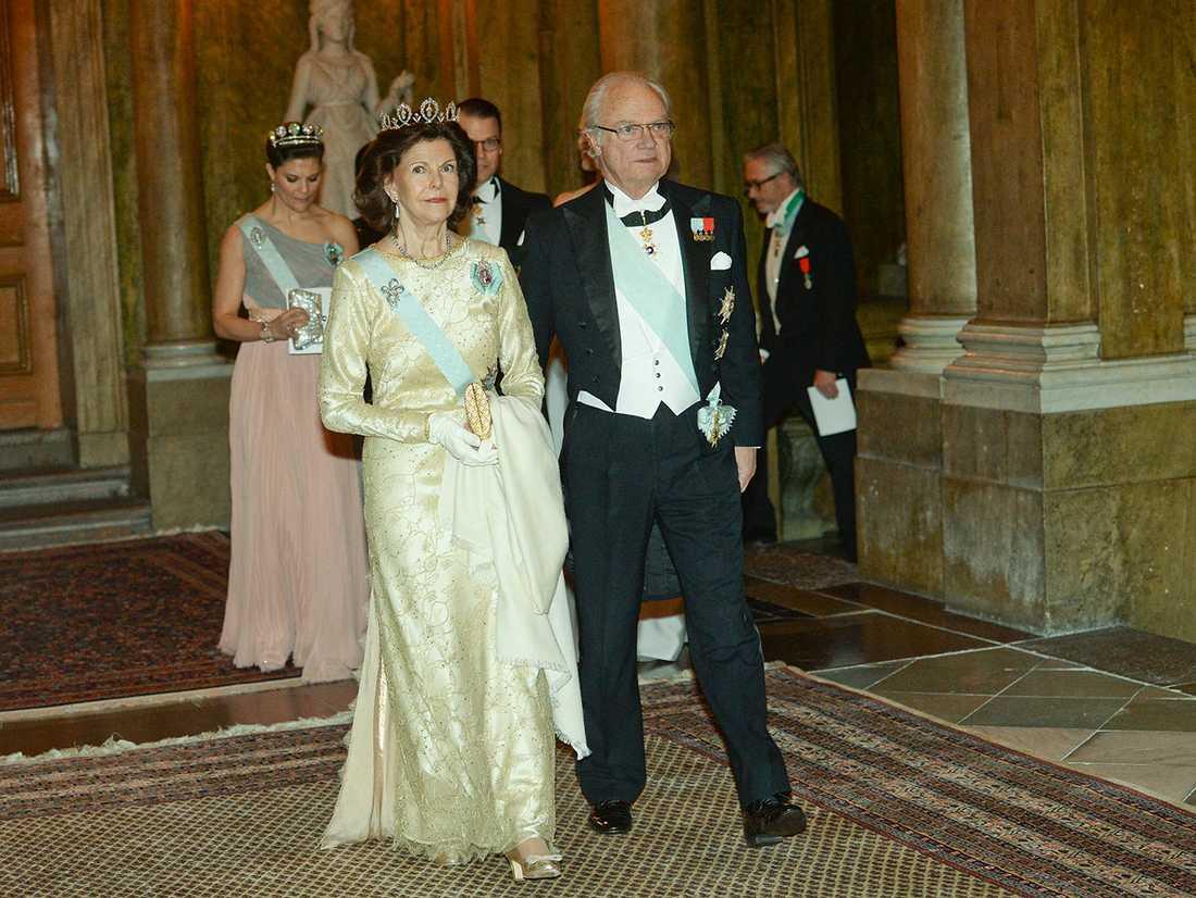 Drottning Silvia och kung Carl Gustaf.