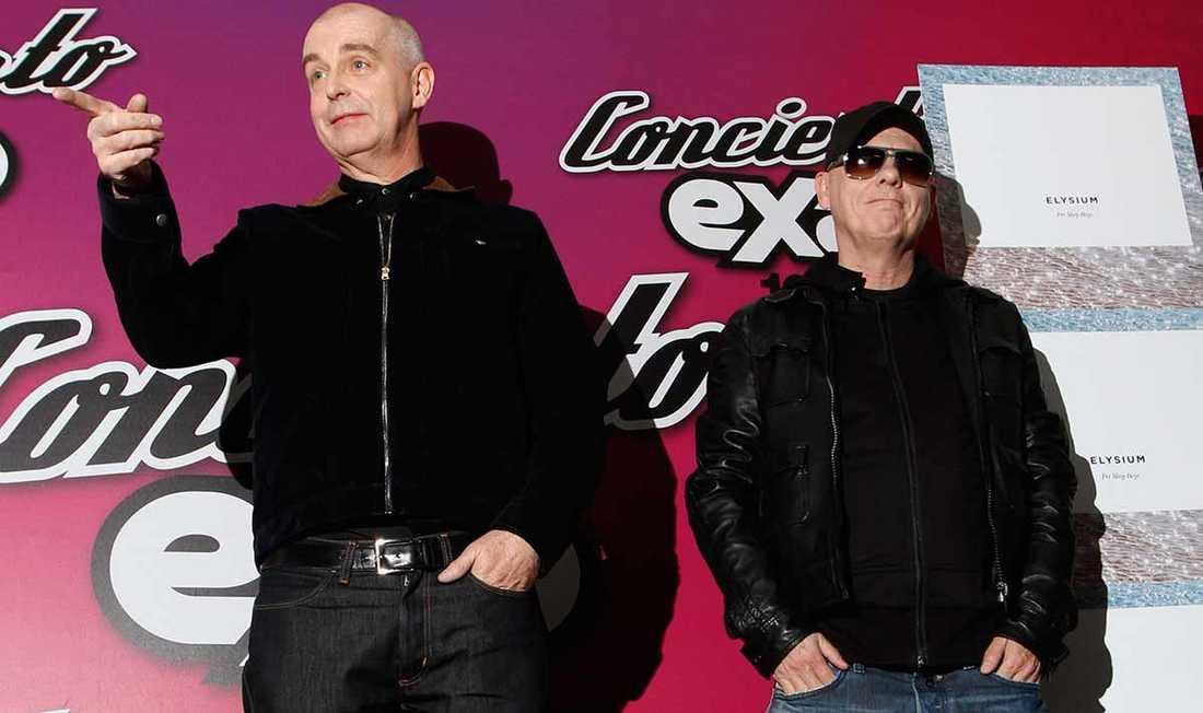 """Neil Tennant och Chris Lowe gör en cover på Springsteens """"Last to die"""" på nya skivan."""