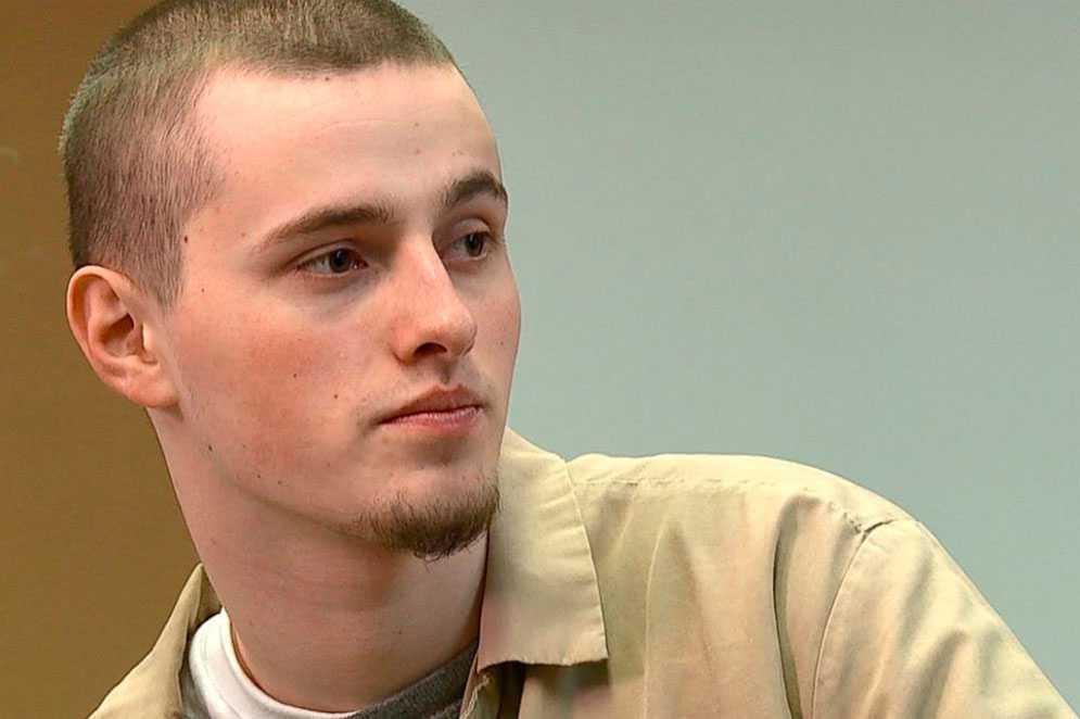 Levi Sparks, en av de fyra som dömdes till femtio års fängelse. Han satt kvar på verandan och vägrade delta i inbrottet, men dömdes ändå, skriver Ronnie Sandahl.