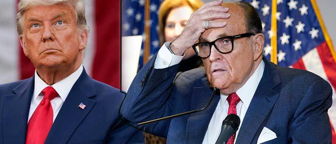 Giulianis son vädjar till Trump om hjälp: Bli hjälten