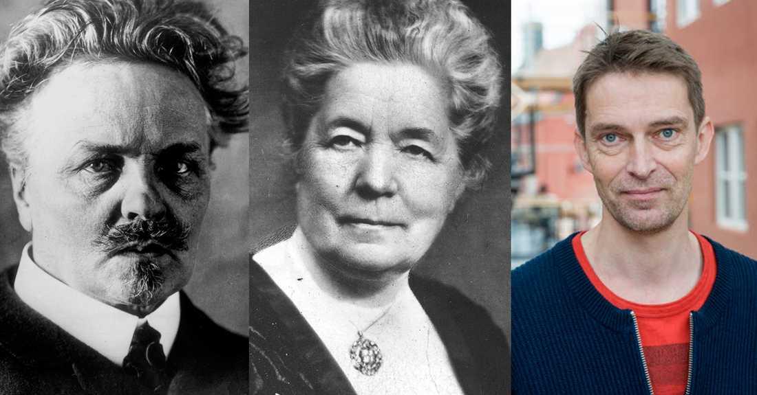 August Strindberg och Selma Lagerlöf – självklara på litteraturlistorna. Men sedan då? Sven Anders Johansson ifrågasätter det självklara i att tänka kvantitativt när man ser på litteraturhistorien.