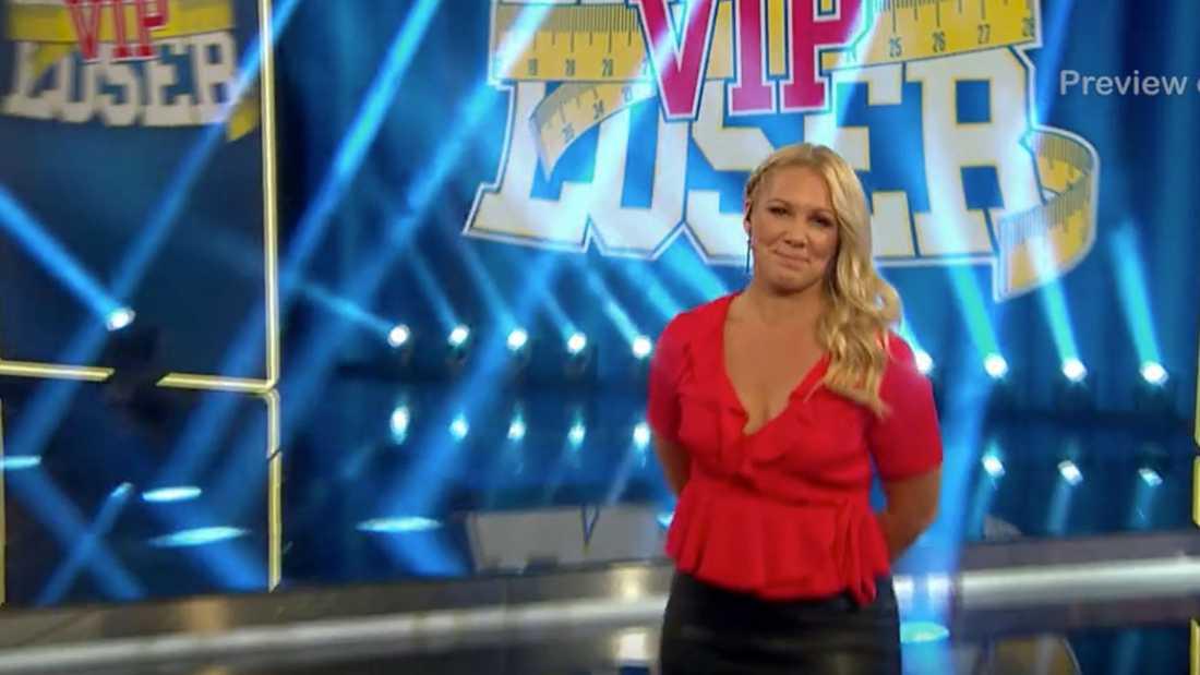 """Anna Brolin, programledare för """"Biggest loser""""."""