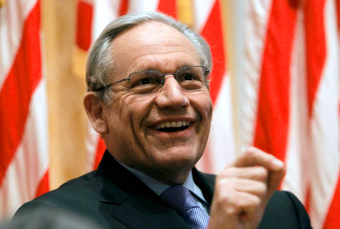 Bob Woodward, tidigare reporter på Washington Post.