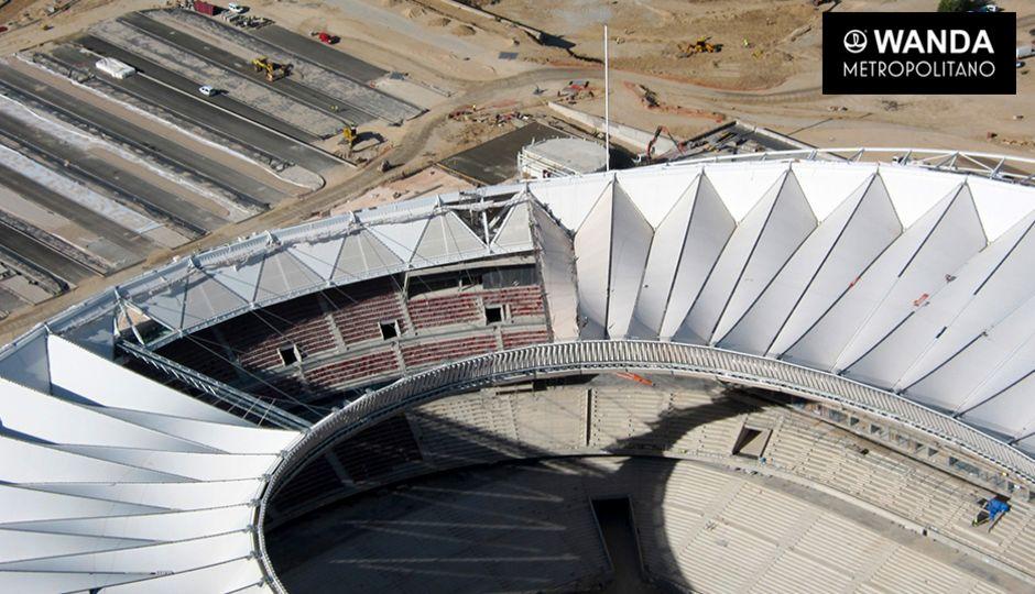 Atl tico madrids nya arena l ngt ifr n f rdig aftonbladet for Puerta 3 wanda metropolitano