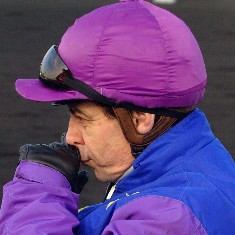 Skadad Yves Dreux skadades i en olycka under onsdagen.
