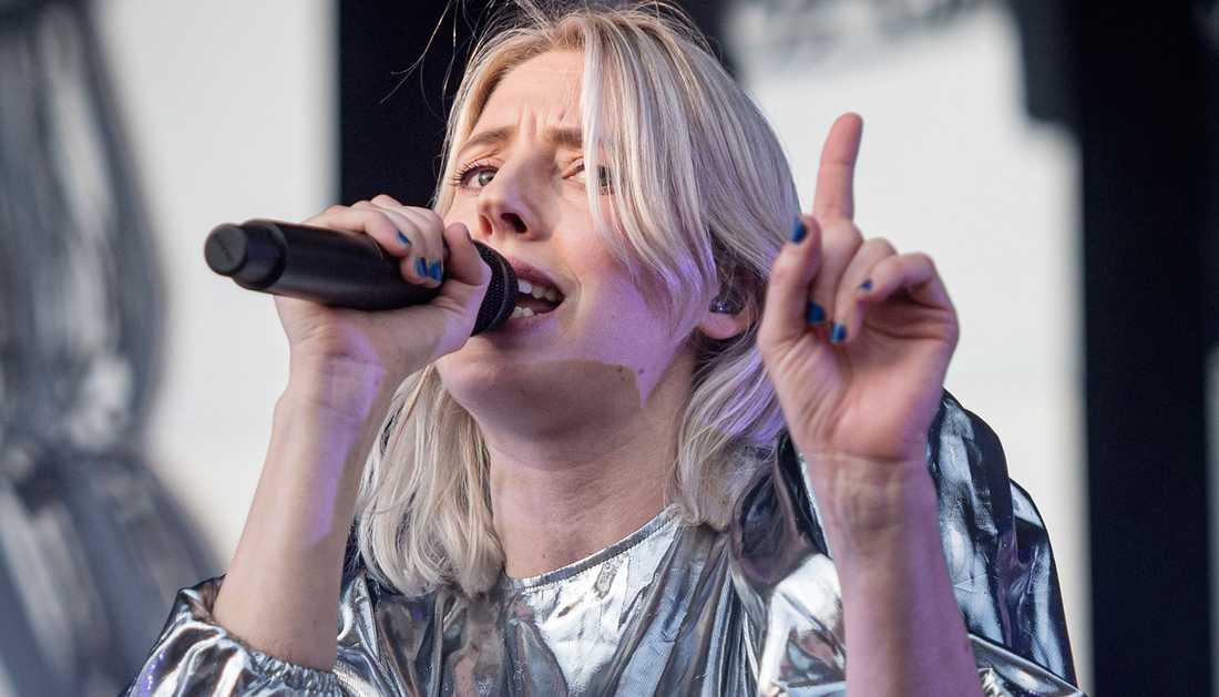 Veronica Maggio under den första av tre utsålda konserter på Gröna Lund i Stockholm i juni.