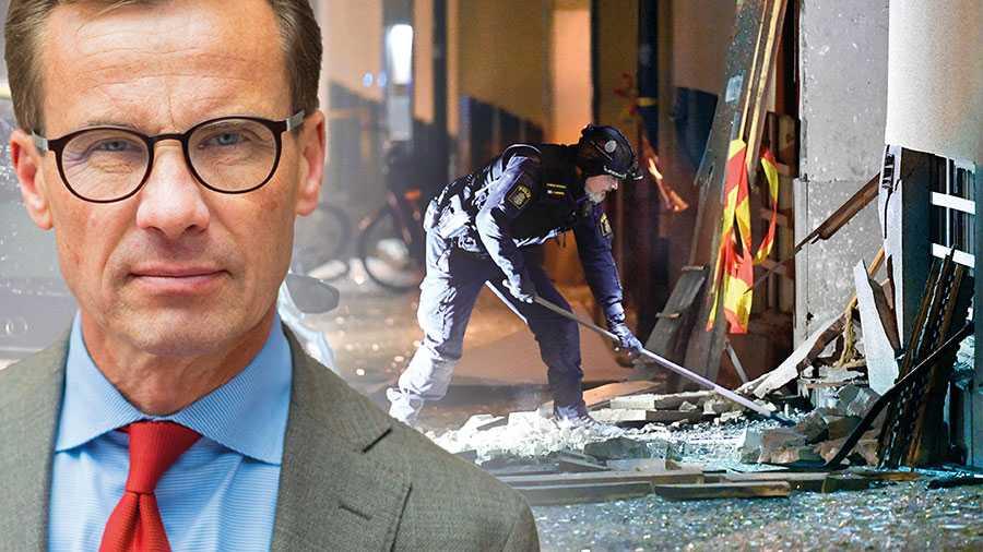 Dessvärre har den här regeringen tappat kontrollen över vad som händer i Sverige. Nu på morgonen vaknade vi återigen till nyheter om bomber och sprängningar, denna gång i Stockholms innerstad och i centrala Uppsala, skriver Ulf Kristersson.