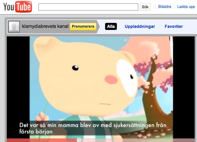 Tecknad film Ett klipp har lagts upp på YouTube som föreställer två nallebjörnar, som enligt filmen ska vara statsministern och Emelie Holmquist.