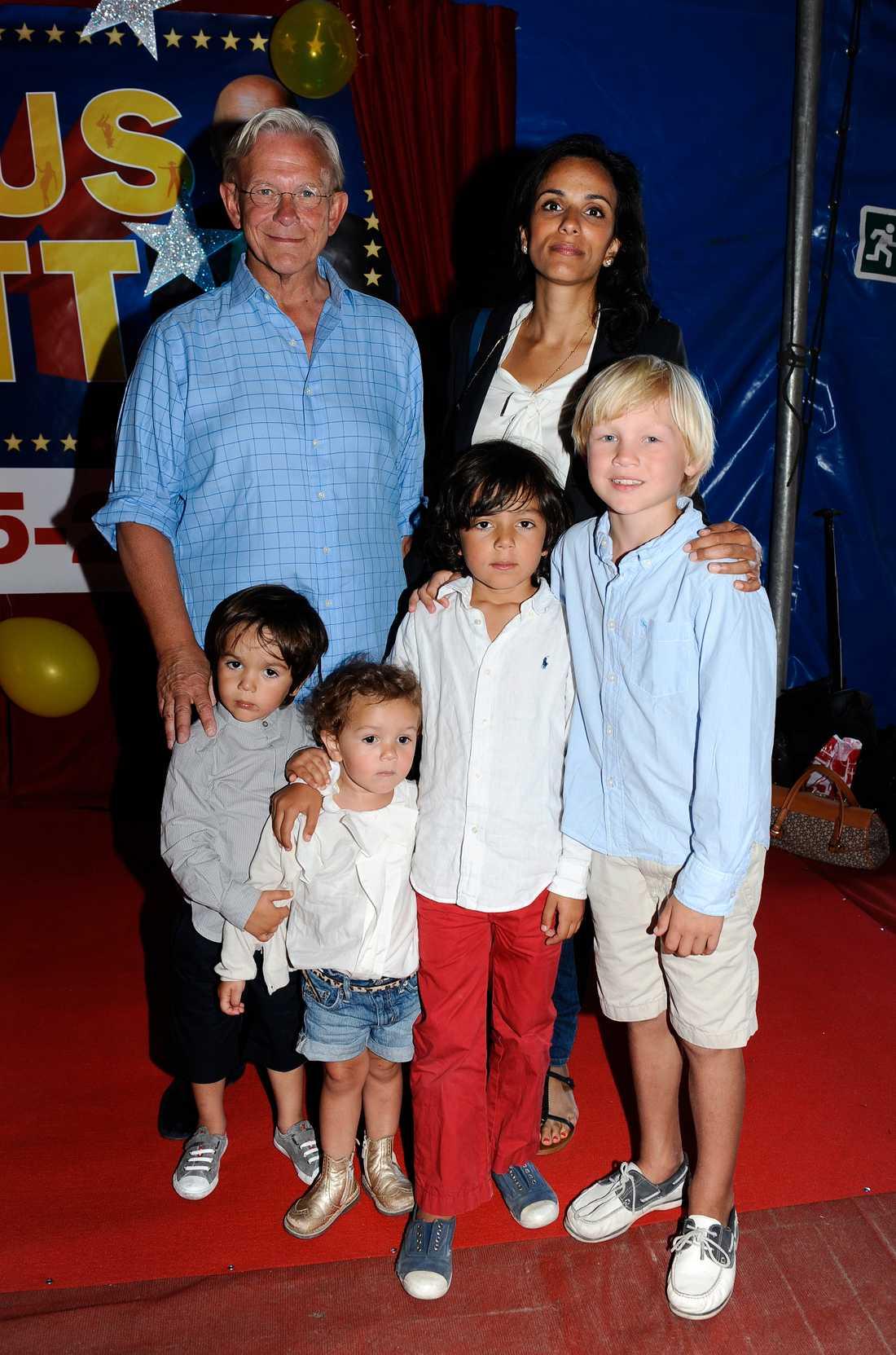"Carl Adam ""Noppe"" Lewenhaupt och Bathina Philipson på Circus Scotts 75-års jubileum år 2011."